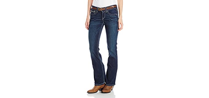 Ariat Women's Real - Jeans for Pear Shaped Figures