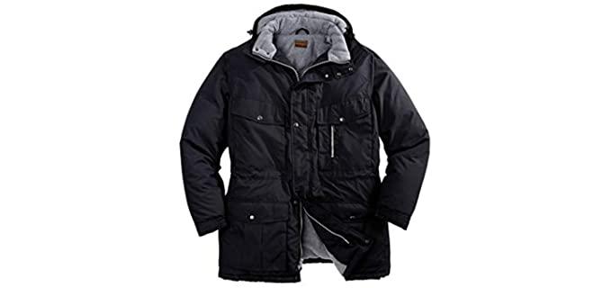 Boulder Creek Men's Kingsize - Large and Tall Coat for Winter