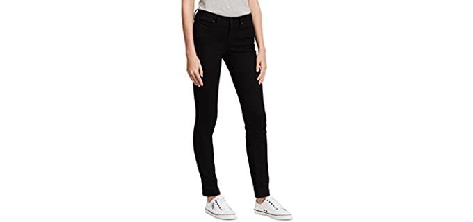 Calvin Klein Women's Skinny - Black Skinny Jeans