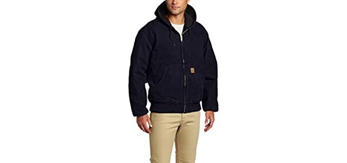 Carhartt Men's Quilted - Flannel Coat for Winter
