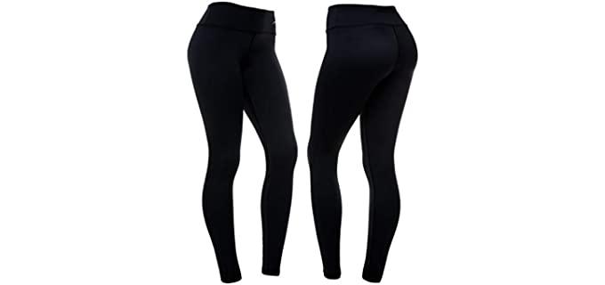 CompressionZ Women's High Waist - Leggings that Slim