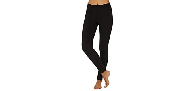 Cuddle Duds Women's ClimateRight - Best Long Underwear for Women