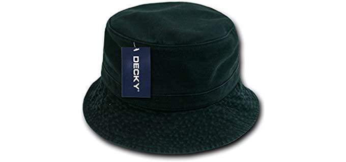 Decky Unisex Polo - Hat with a Bucket Style
