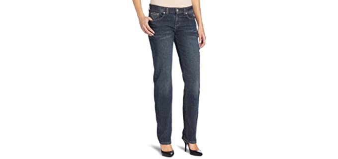 Dickies Women's Relaxed - Jeans for a Muffin Top