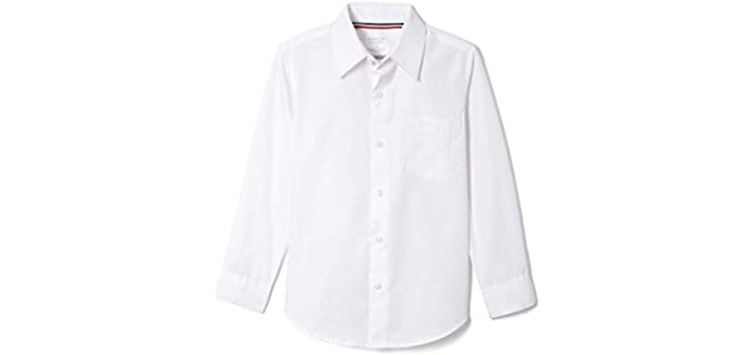French Toast Boy's Long Sleeve - Wrinkle Resistant Dress Shirts