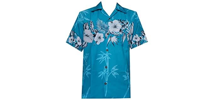 Alvish Women's Aloha - Polyester Hawaiian Shirt