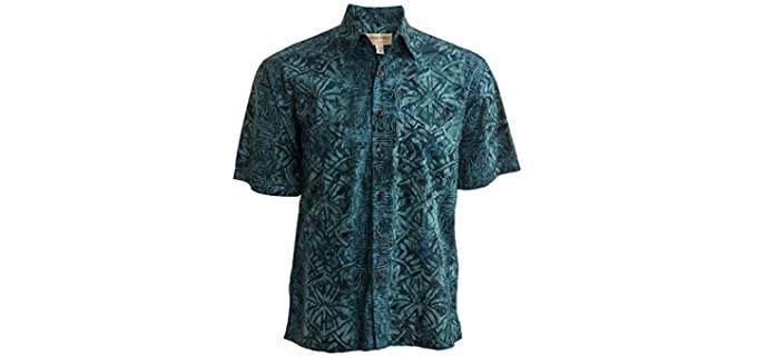 Johari West Men's Geometric Forest - Forest print Hawaiian Shirt