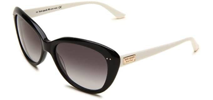 Kate Spade Women's Angeliqs - Cat Eye Sunglasses for an Oval Face Shape