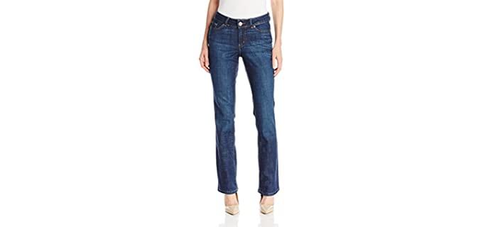 Lee Women's Modern - Shaping Jeans for Apple Figures