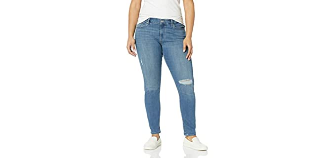 Levi's Women's Curvy - Shaping Jeans for Apple Figures