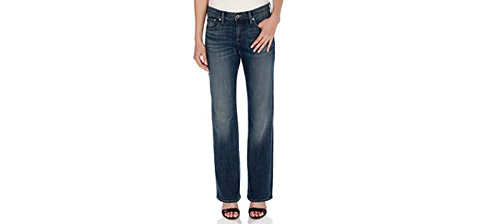 Lucky Brand Women's Mid Rise - Curvy Ladie's Jeans