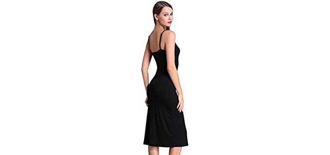 Msbasic Men's Adjustable - Strappy Dress for Apple Figures