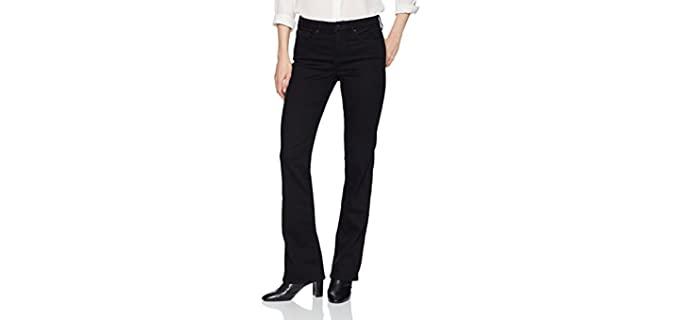 NYDJ Women's Marilyn Straight - Jean for Apple Figure
