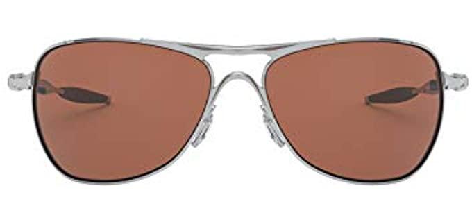 Oakley Men's Cross Hair - Round Face Sunglasses