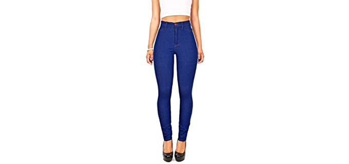 Vibrant Women's Skinny - Jeans to Hide a Muffin Top