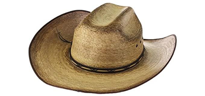 Resistol Men's Amarillo Sky Palm - Straw Cowboy Hat