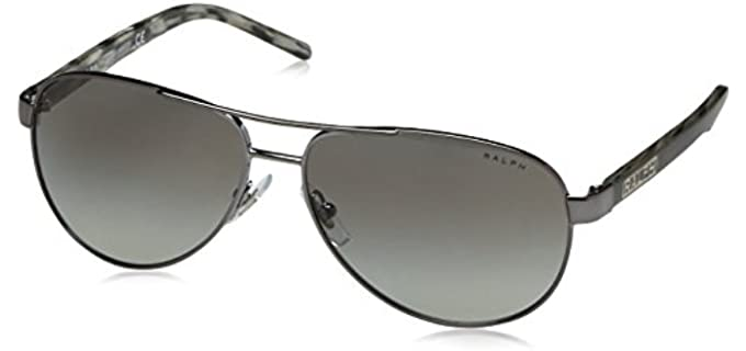 Ralph Lauren Women's RA4004 - Sunglasses for Round Faces