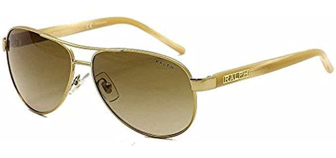 Ralph Lauren Women's 4004 - Sunglasses for an Oval Face