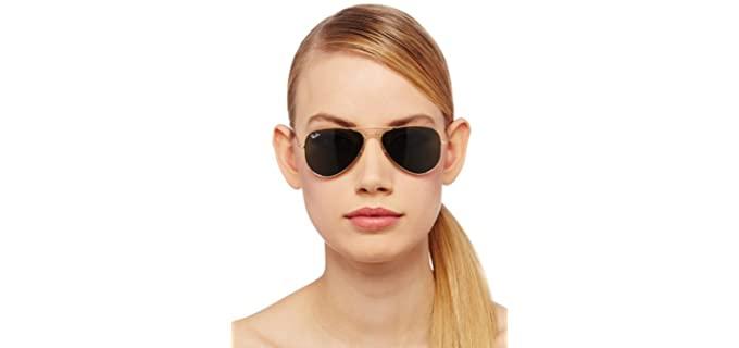 Ray-Ban Women's Aviator - Small Sunglasses