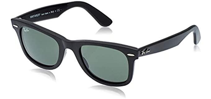 Ray Ban Unisex Original Wayfarer - Sunglasses for an Oval Face Shape