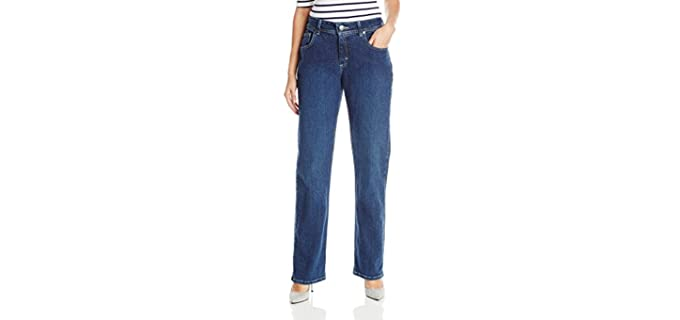 Riders Lee Women's Indigo - Jeans to Hide a Muffin Top