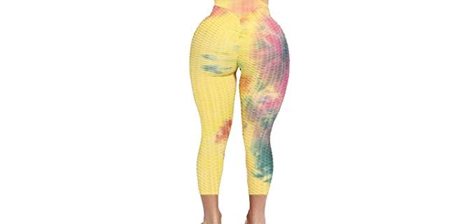 Seasum Women's High Waist - Slimming Yoga Tights