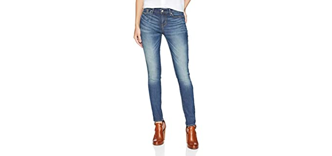 Levi Strauss Women's Skinny - Muffin Top Hiding Jeans