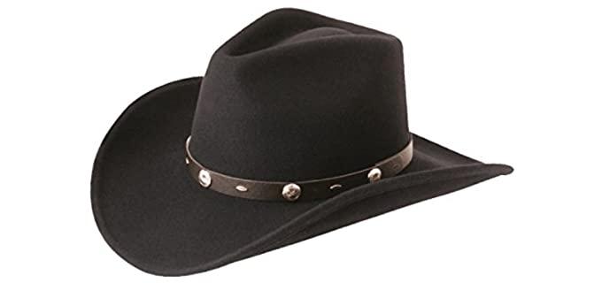 Silverado Men's Rattler - Crushable Cowboy Style Hat