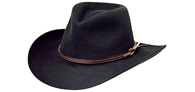 Stetson Men's Bozeman - Best Cowboy Hat for Rain