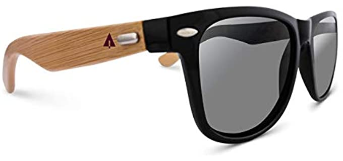 Treehut Unisex Bamboo - Sunglasses for an Round Face