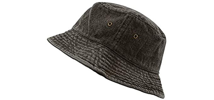 Dorfman Unisex Pacific - Bucket Style Hat