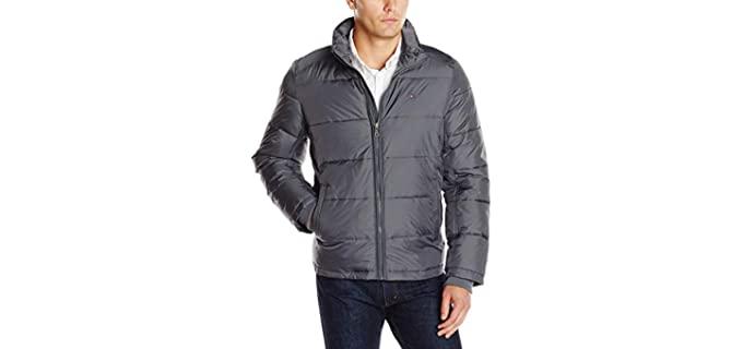 Tommy Hilfiger Men's Nylon Puffer - Warm Winter Puffer Coat