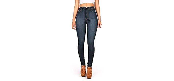 Vibrant Women's Classic - Comfortable Wear Jeans