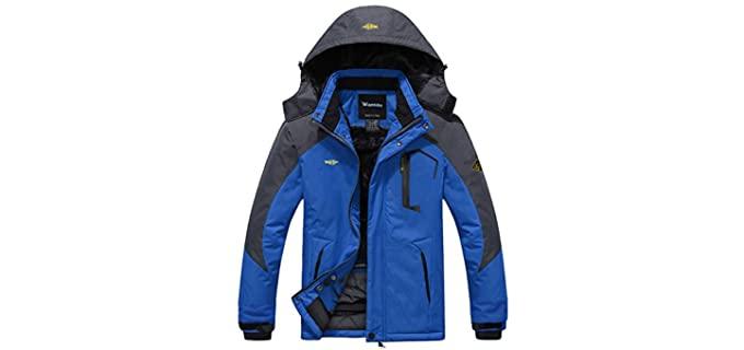 Wantdo Men's Mountain - Outdoor Coat for Winter