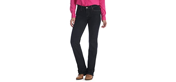 Wrangler Women's Q-Baby - Lady Fit Jeans