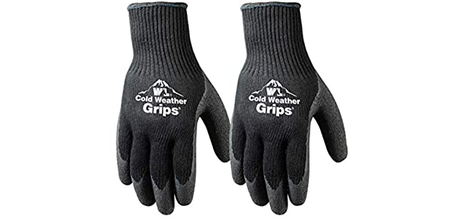 Wells and Lamont Unisex Cold Weather - Winter Work Gloves