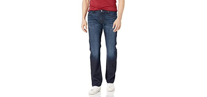 7 For All Mankind Men's Standard Fit - Leg Jeans