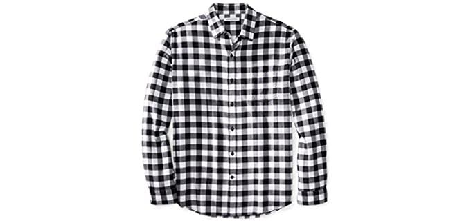 Amazon Essentails Men's Regular Fit - Flannel Shirt