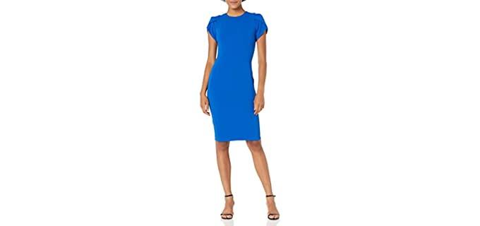 Calvin Klein Women's Sheath Dress - Calvin Klein Sheath Dress
