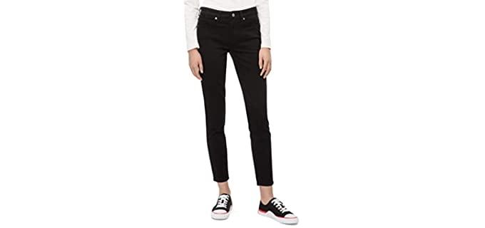 Calvin Klein Women's Mid-Rise - Skinny Jeans