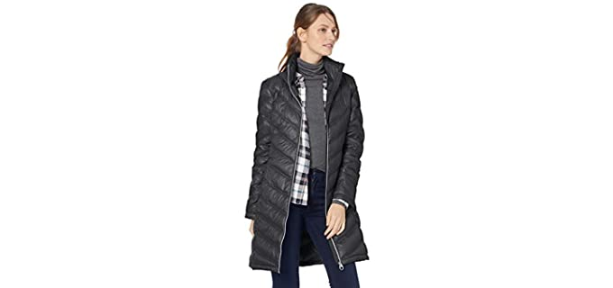 Calvin Klein Women's Chevron - Winter Jacket