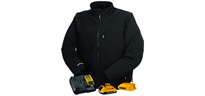 DEWALT Men's DCHJ060A - Heated Soft Shell Jacket