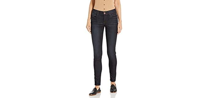 Democrasy Women's AB Solution - Plus Size Slimming Jeans