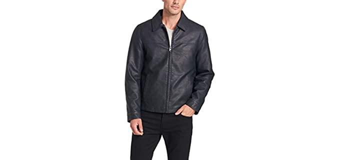 Dockers Men's Faux Leather - Leather Jacket