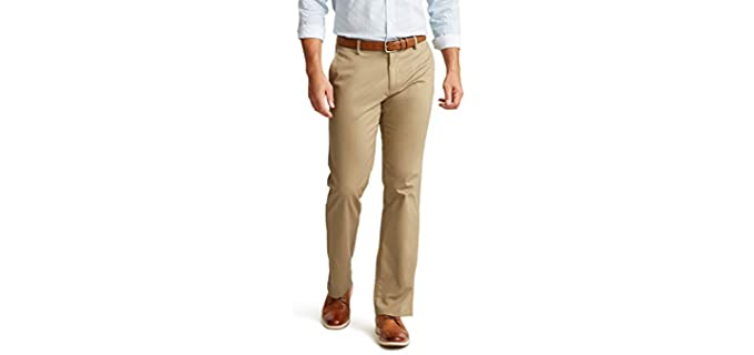 Dockers Men's Signature Lux - Khaki Pants