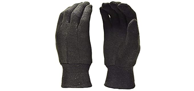 G&F Unisex Heavy Work Gloves - Jersey Work Gloves