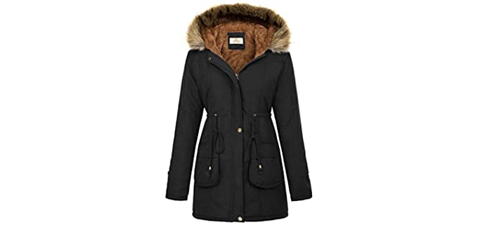 Grace Karin Women's Hooded - Warm Winter Jacket