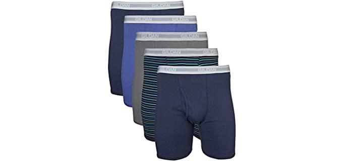 Gildan Men's Regular - Comfortable Boxer Briefs