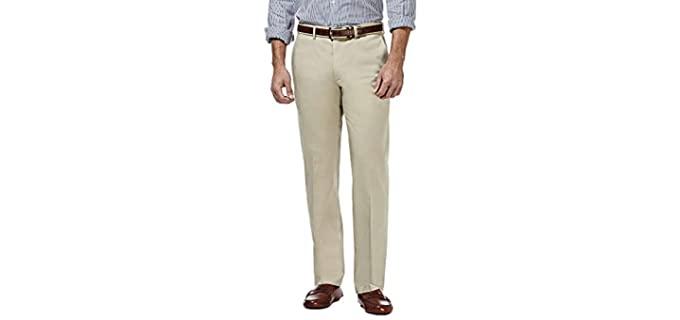 Haggar Men's Premium - Men's Khaki Pants