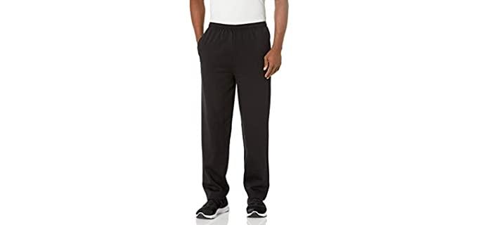 Hanes Men's EcoSmart - Open Leg Sweatpants